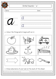 10 best images of phonics worksheets letter a with the letter a