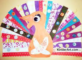 scrap paper turkey thanksgiving monthly seasonal crafts