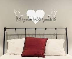 Bedroom Accent Wall Design Ideas Accent Walls With Qoutes Gallery Us House And Home Real Estate