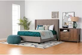 King Upholstered Platform Bed Damon Ii Eastern King Upholstered Platform Bed W Storage Living