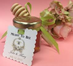 wedding shower favors ideas 30 qty meant to bee honey wedding shower favors with dipper