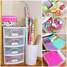 wrapping supplies best 25 wrapping paper organization ideas on gift