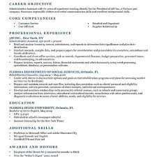 work objectives for resume work objective resume when to write a