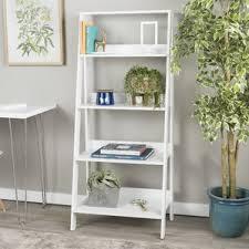 antique white ladder shelf wayfair