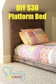 Build Easy Twin Platform Bed by