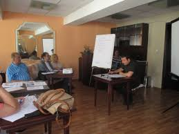 training of trainers and carrying out a program for early
