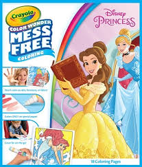 crayola color markers activity book disney princess