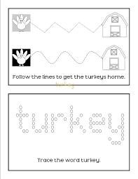 free printable turkey activity books mom on the move