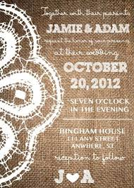 wedding programs exle gorgeous rustic wedding invitations