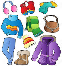 winter clothes for kids clipart clipartxtras