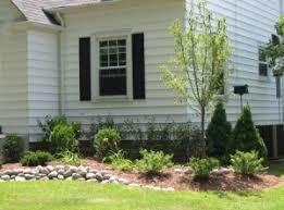 simple landscape plans good gorgeous landscaping ideas for large