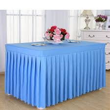 table skirting sky blue dessert table baby shower food