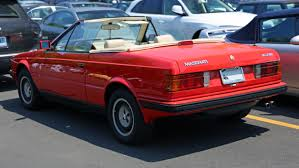 maserati red convertible 1987 maserati biturbo information and photos momentcar