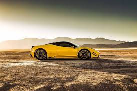 widebody ferrari prior design widebody ferrari 458 looks odd in yellow has