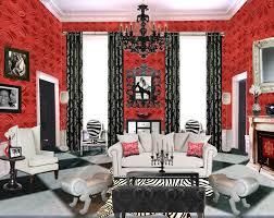 living room wallpaper ideas red room design ideas