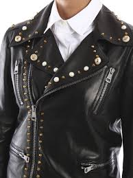 buy biker jacket leather biker jacket by gucci leather jacket ikrix