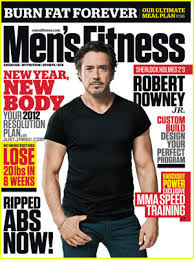 men s robert downey jr covers men s fitness january february 2012