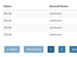 convert json to html table jquery plugin to render tables from json or js objects table
