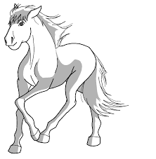 9 images of spirit running coloring pages spirit horse drawings