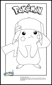 best hd cute pikachu coloring pages free big collection free