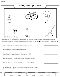 map scale worksheets 4th grade 28 templates social studies