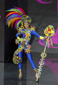 america s miss universe pageant national costume was