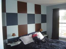 bedroom awesome creative painting ideas for bedrooms with brown bedroom awesome creative painting ideas for bedrooms with brown gray combination white color painting wall bedroom plaid pattern and black fabric bedding