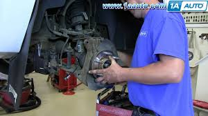 how to install replace front wheel bearing hub assembly 2007 13