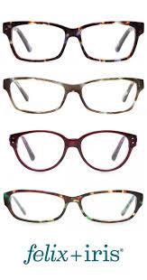 4 unique glasses with a narrow bridge felix iris glasses