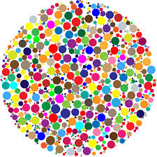 clipart colorful circle fractal