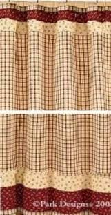 Park Designs Curtains Country Plaid Shower Curtains Foter