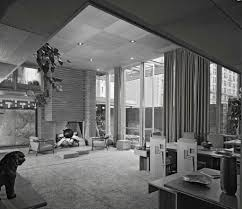 ezra stoller usonian house at guggenheim frank lloyd wright