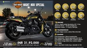 quick facts 2016 harley davidson night rod special