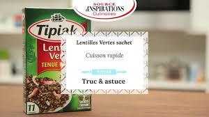 comment cuisiner des lentilles vertes mode d emploi cuisine les lentilles vertes tipiak