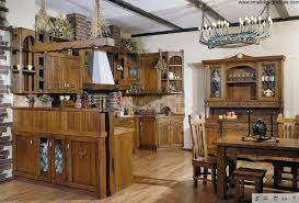 country kitchen design nice classic interior in the styled full of