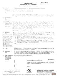 massachusetts purchase agreement fill online printable