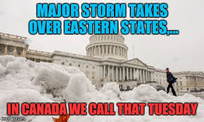 major storm takes over eastern states in canada we call that