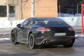 porsche panamera interior 2015 spyshots 2017 porsche panamera first interior photos show big