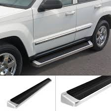 jeep commander silver iboard running boards 6