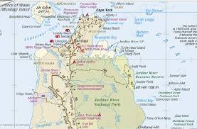 road map of york cape york 4wd guide mud map