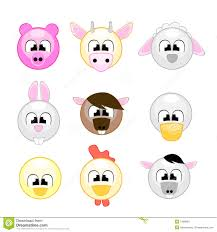 funny farm animals for kids stock photography image 7499082