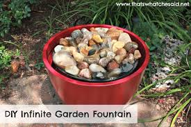 Diy Patio Fountain That U0027s What Che Said Diy Garden Fountain That U0027s What Che
