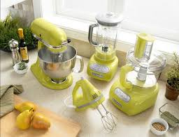 Yellow Kitchen Aid - colorful blender and mixer kitchenaid kitchen mixer and mixers