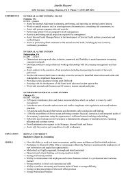 Internal Resume Internal Audit Intern Resume Samples Velvet Jobs