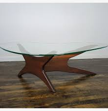 adrian pearsall mid century kidney shaped coffee table ebth