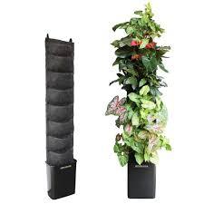 florafelt vertical garden kit 8 pocket living wall 12 in x 62 in