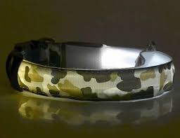 dog collar lights waterproof pets dog led lights night safety dog collar waterproof camo