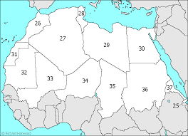 n africa map quiz middle east and africa psms world geography