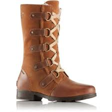 womens boots in s sizes sorel emelie lace womens boots elk cordovan all sizes ebay