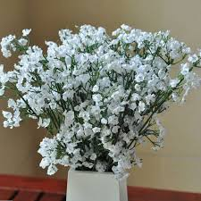 baby s breath flowers diy artificial baby s breath flower gypsophila silicone plant